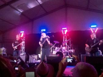 Johnny Winter ao vivo em Memphis, 2012