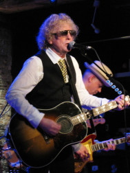 Ian Hunter ao vivo em NYC