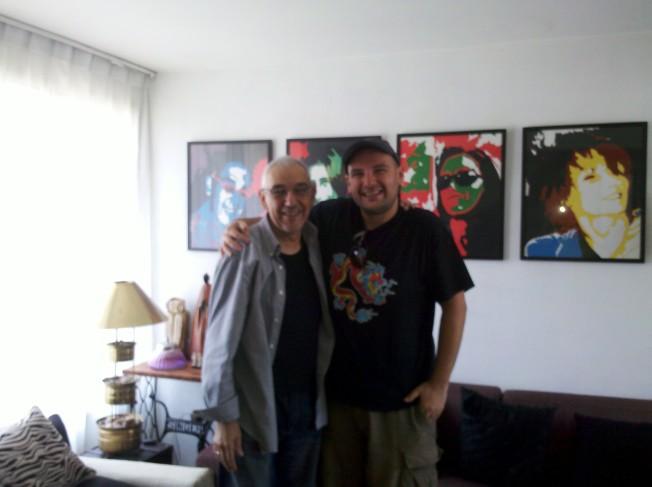 Carlos Corales e Bento Araujo, Santiago, 2012