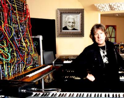 Robert Moog e Keith Emerson